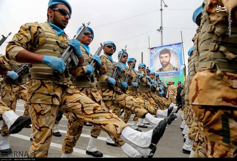 رژه روز ارتش در خراسان شمالی