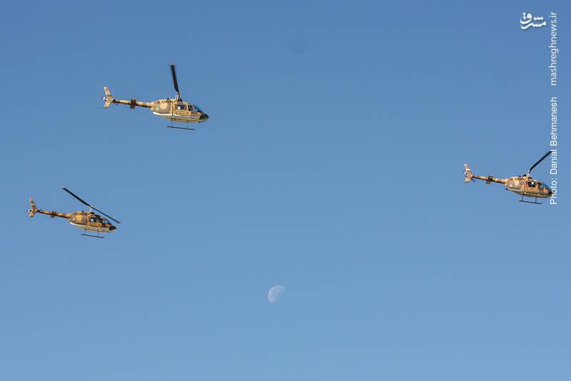 دسته پروازی بالگرد شناسایی بل 206 جت رنجر