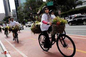 جشنواره گل در خیابان های سائو پائولو