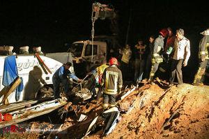 افزایش کشتههای تصادف شب قبل شاهرود به 12نفر