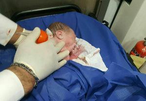 تولد کودک دانمارکی در آمبولانس مازندران