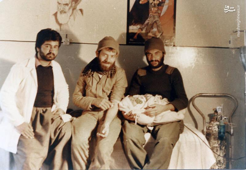 از راست: مجتبی عسکری، رضا چراغی، ناشناخته
