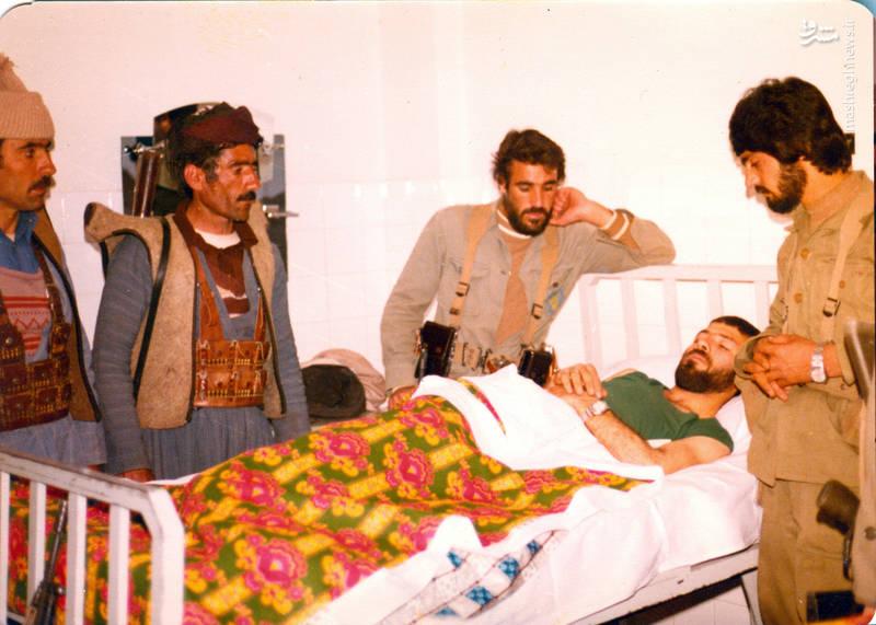 رضا چراغی(نفر روی تخت)
