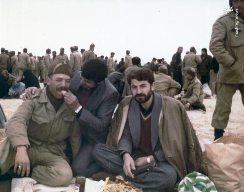 رضا چراغی(نفر اول از چپ)