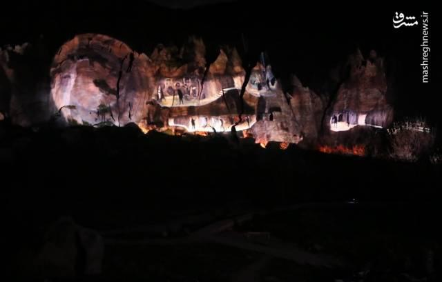 بزرگترین غار نمایش 3بعدی جهان
