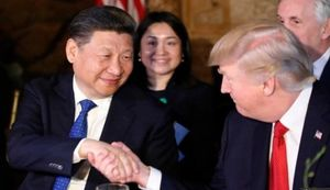 ترامپ و چین