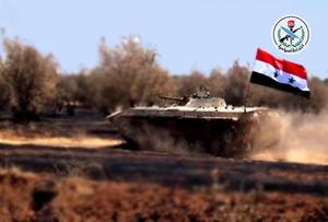شب پر کار جنگندههای ائتلاف غرب و روسیه در آسمان سوریه/ بن بست داعش در جنوب استان حمص با وجود پشتیبانی جنگندههای آمریکایی + نقشه میدانی