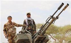 مقابله نیروهای یمنی با حمله مزدوران سعودی به الجوف