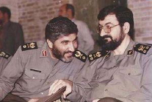 شهید احمد کاظمی - محسن رضایی