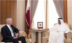 در دیدار وزیر دفاع آمریکا با امیر قطر چه گذشت؟