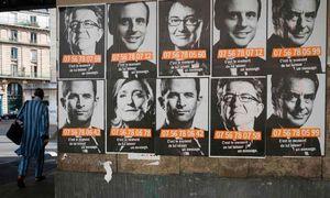 دور نخست انتخابات ریاست جمهوری فرانسه آغاز شد
