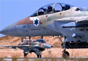 بمباران شرق غزه توسط جنگندههای رژیم صهیونیستی