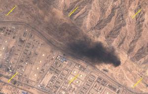 تصاویر ماهوارهای از مشعلسوزی عسلویه