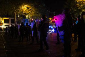 بازداشت 100 نفر درجریان اعتراضهای پاریس