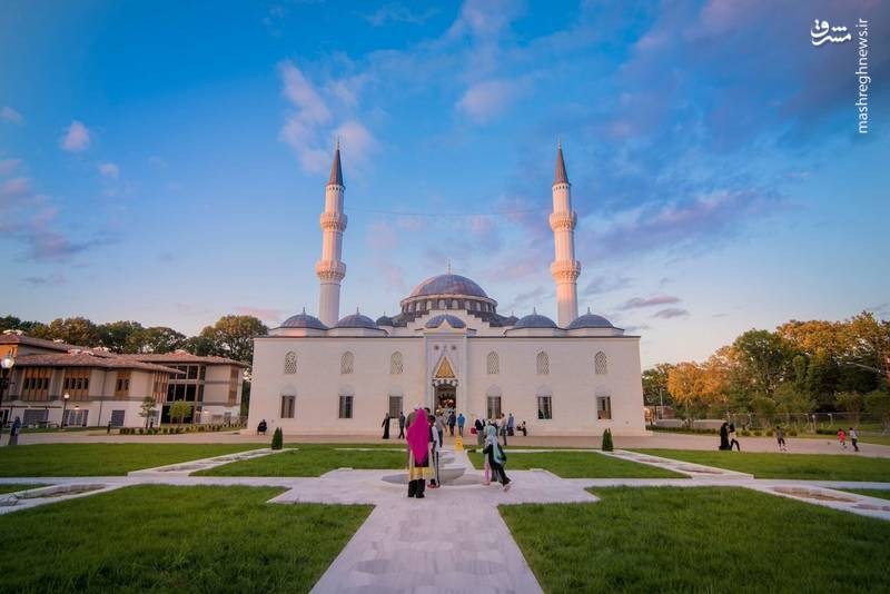 زیباترین مسجد آمریکا,مسجد دیانت
