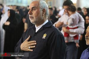 حضور کاروان خدام امام رضا(ع) در زندان دامغان
