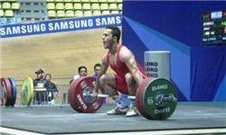 پنجمی جابر بهروزی در وزنه برداری قهرمانی آسیا