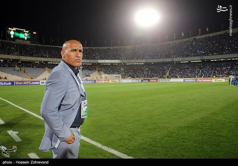 دیدار تیم های فوتبال استقلال و الاهلی عربستان