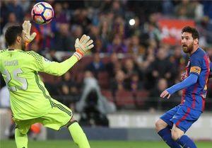 تداوم صدرنشینی بارسلونا با آتش بازی در نیوکمپ