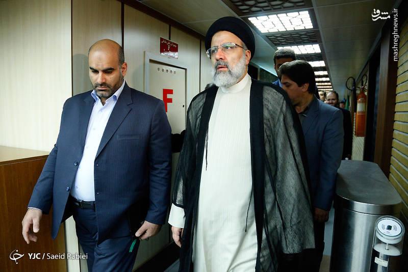 پشت صحنه ضبط برنامه ابراهیم رئیسی نامزد انتخابات ریاست جمهوری