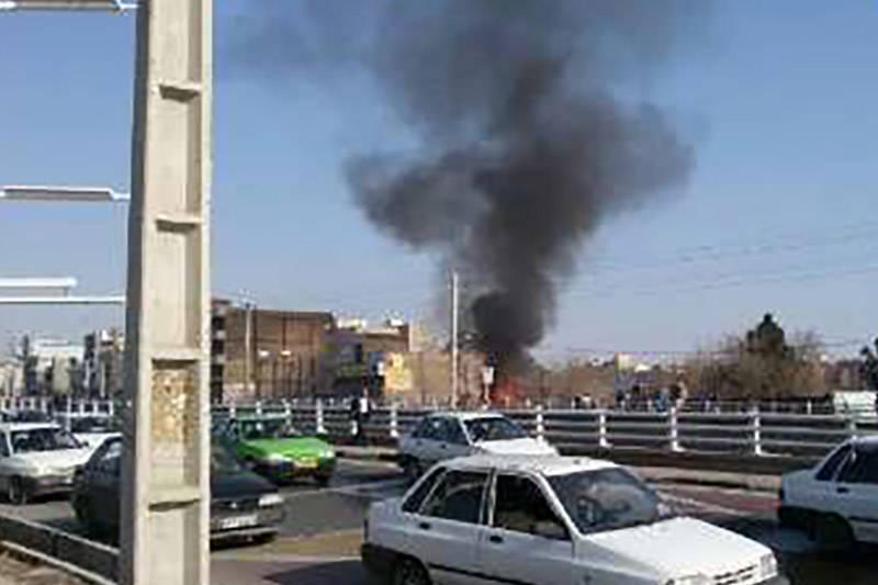 فیلم/ انفجارهای پیاپی در ورامین