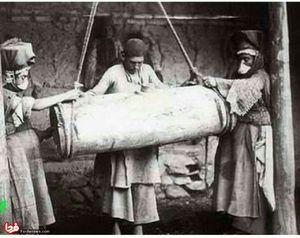 تهیه کره با مشک در دوره قاجار
