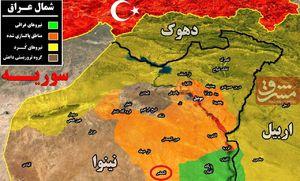 چرا داعش مناطق مرزی مشترک عراق و سوریه را به نیروهای کرد هدیه میدهد؟/خط تماس تهران - بغداد - دمشق - بیروت دوباره برقرار میشود؟ +نقشه