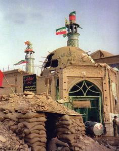 خیابانهای ویران خرمشهر را از روی مسجد جامع میشناختیم