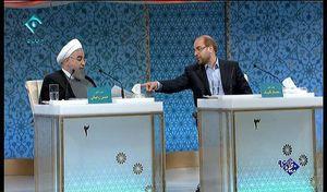 نخستین دور مناظره، زیر سایه قالیباف/ حمله اقتصادی شهردار تهران به روحانی/ رییسی وارد چالش نشد