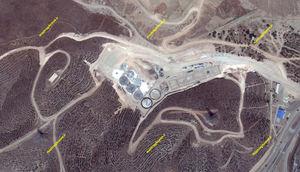 مراحل ساخت کارخانه تولید برق از زباله در تهران + تصاویر ماهوارهای
