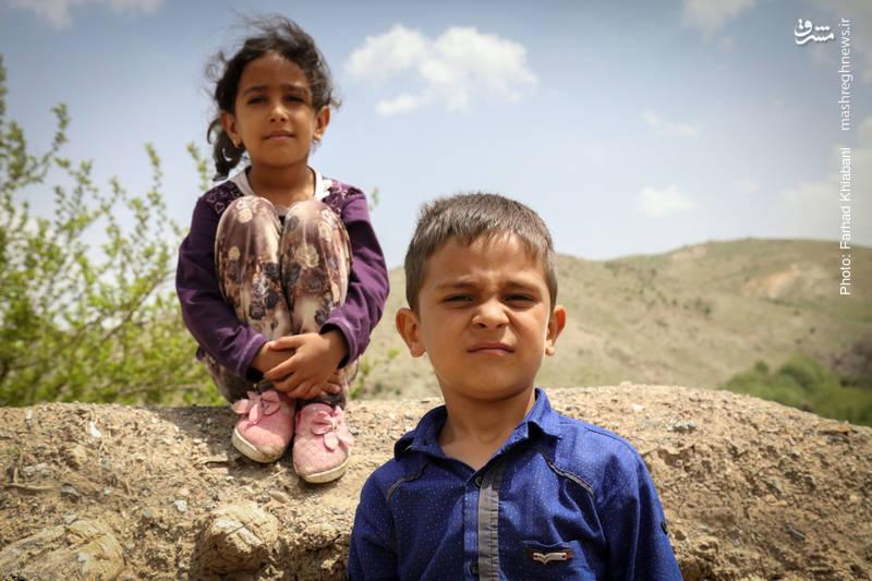 کودکان خردسال روستا که آینده ای برای خود متصور نیستند