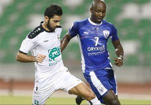 مدافع ایرانی الاهلی منتظر تصمیم باشگاه
