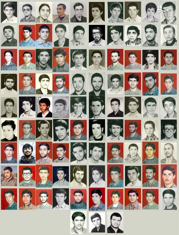 دانش آموزان شهیدِ دبیرستان سپاه تهران