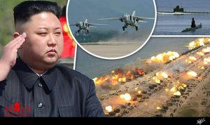 نظارت رهبر کرهشمالی بر آزمایش پدافند هوایی جدید