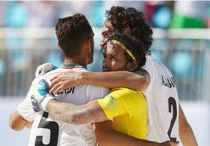 صعود ساحلیبازان ایران به جمع ۸ تیم برتر