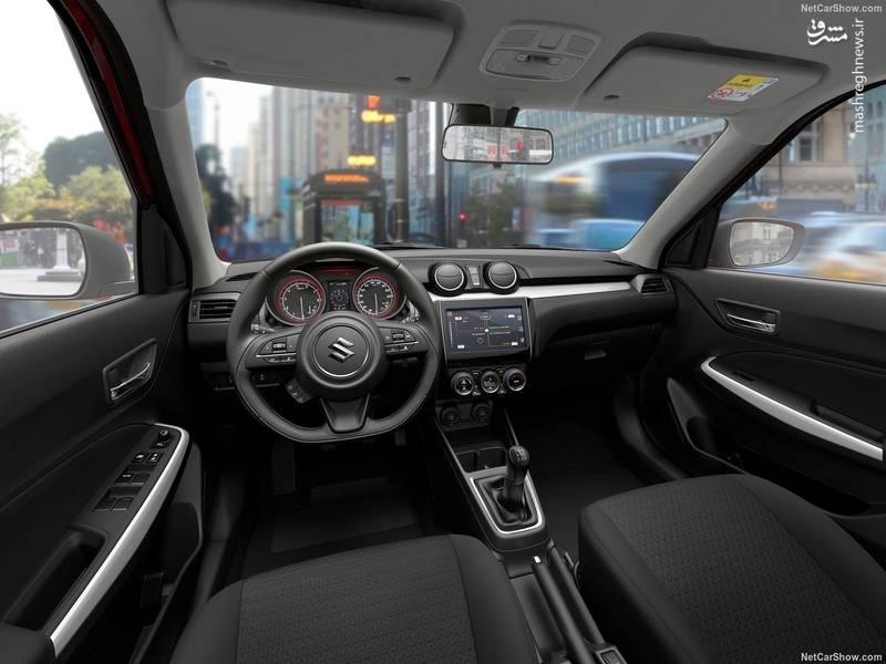 معرفی خودرو مشخصات سوزوکی سوئیفت مجله خودرو قیمت سوزوکی سوئیفت Swift 2018 Suzuki Swift