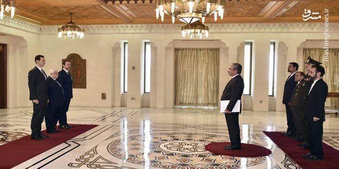 تقدیم استوارنامه سفیرایران دربه بشار اسد/عکس