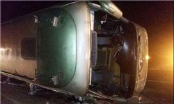 اسامی ۱۴ مجروح حادثه اتوبوس نهاوند اعلام شد
