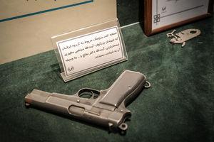 عکس/ اسلحه ای که با آن شهید مطهری را به شهادت رساندند