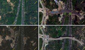 مراحل ساخت پل طبیعت تهران؛ نماد دیگری از «ما میتوانیم»  + تصاویر ماهوارهای
