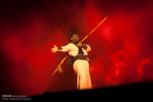 عکس/ اجرای نمایش بزرگ فصل شیدایی