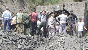 همه ۳۵ کارگر محبوس شده در معدن جان باختند/ ۲۱ جنازه از زیر آوار خارج شده است/ عملیات برای خارج کردن اجساد ادامه دارد/ آخرین اسامی مصدومان+فیلم و تصاویر