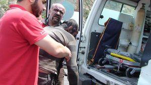 عکس/ مصدومان حادثه معدن زغال سنگ آزادشهر