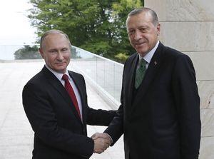 گفتگوی تلفنی پوتین و اردوغان درباره اوضاع قطر