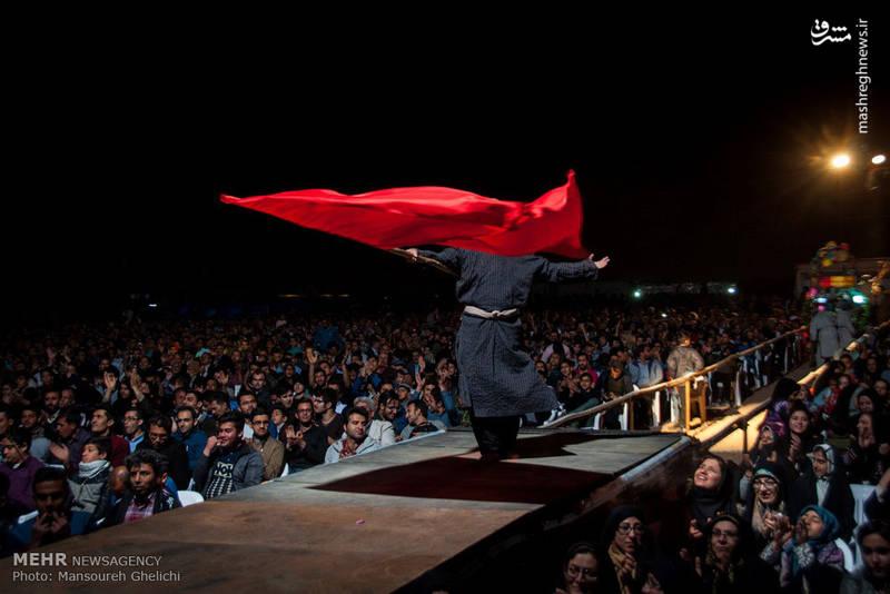 اجرای نمایش بزرگ فصل شیدایی