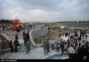 عکس/ افتتاح پارک زیبای چهل بازه در مشهد