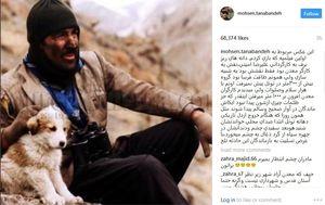 عکس/ پست اینستاگرام محسن تنابنده درباره جانباختن معدنچیان