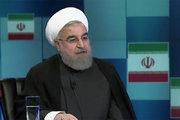 فیلم/ خندهدار ترین جمله روحانی در گفتگو ویژه خبری