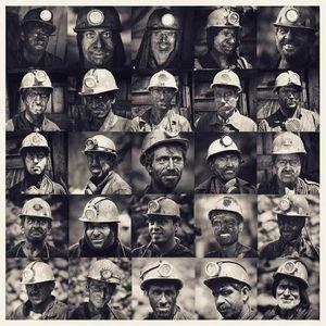 عکس/ پرتره هایی از کارگران معدن زمستان یورت