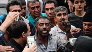 فیلم/ کارگر معدن آزادشهر: به ما گفتند به روحانی رای بدهید!
